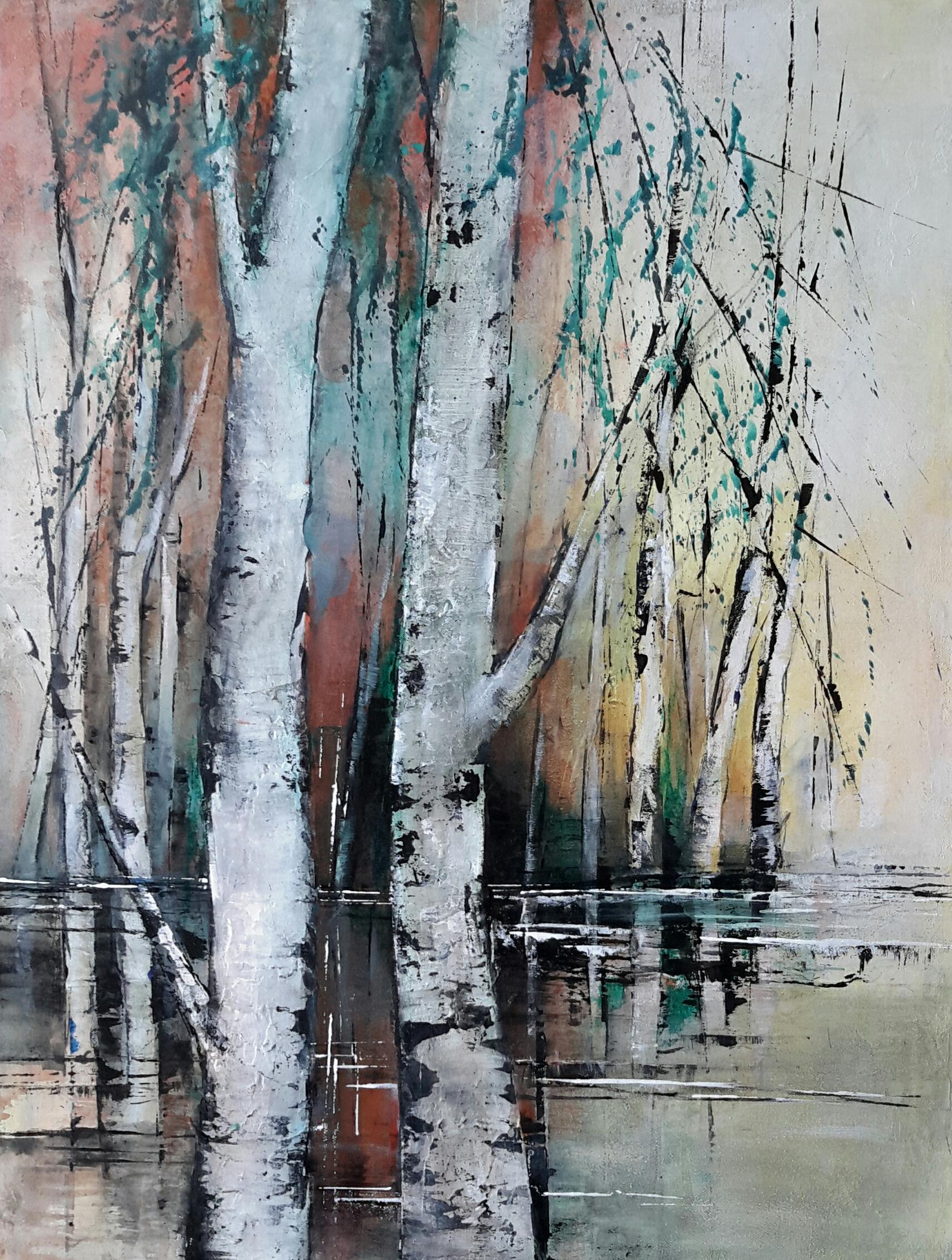 Birken am Wasser 2