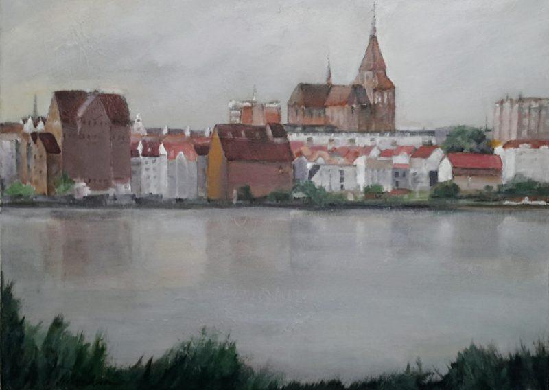 Blick vom Gehlsdorfer Ufer